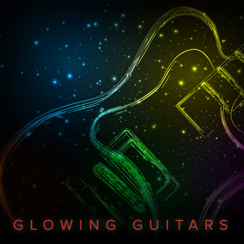 Glowing-Guitars